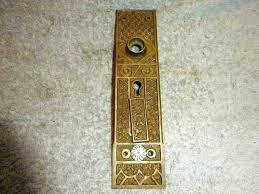 Door Hardware Anatomy Vintage Door Hardware Vintage Door Knobs