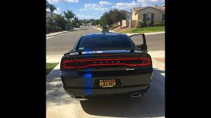 Dodge Charger Back Lights 2011 2014 Charger Luxe Tail Light Tint Install