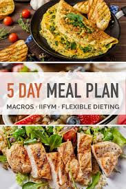 Indian Diet Chart For 1900 Calories 5 Day Macro Dieting Meal Plan