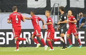 Eintracht Frankfurt gegen FC Bayern München, DFL Supercup 2018 im  Live-Ticker