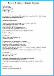 Driver Job Description Resume Resume Templates Amazing Format For