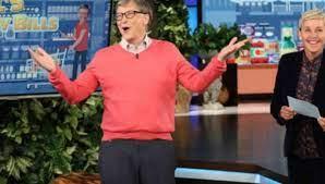 Bill Gates goes on Ellen, fails grocery challenge