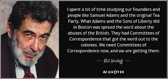 Samuel Adams Quotes 42 Amazing Nat Hentoff Quote I Spent A Lot Of Time Studying Our Founders And