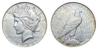 1923 Peace Silver Dollar Value Chart 1923 D Peace Silver Dollar Coin Value Prices Photos Info
