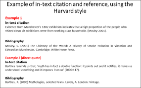 How To Cite A Quote In An Essay Mesmerizing Reference Format Harvard Style