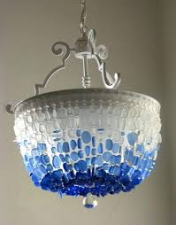 coastal decor lighting. 63 Most Lovable Semi Flush Mount Chandelier Uk Swarovski Crystal Sea Glass Coastal Decor Beach Ceiling Fixture The Nantucket Sound Mini Flus Chandeliers Lighting