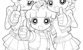 Powerpuff Girls Z Coloring Pages Chronicles Network