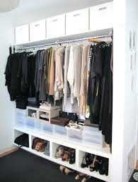 closet clothes rack innovative ideas furniture how to rod height closet clothes rack