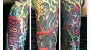 Is This Tattoo Of Nikola Tesla Wrestling A Kraken A Great Tattoo Or