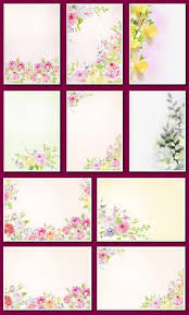 Free Floral Backgrounds Flower Background 12 Png Images Floral Backgrounds A4 2480 3507 Px