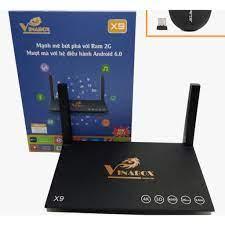 Tivi box VINABOX X9 RAM 2GB ROM 8GB KHỦNG