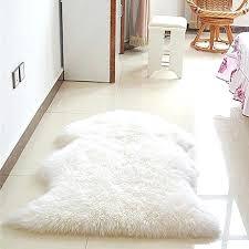 s faux lambskin rug large sheepskin ikea