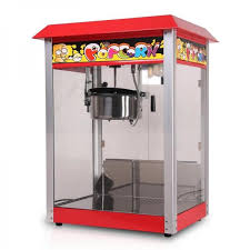 Popcorn Express Vending Machine Best Red Model Electric Heating Commercial 48 OZ Kettle Popcorn Vending