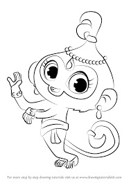 Drawing Tala From Shimmer And Shine Get Coloring Pages