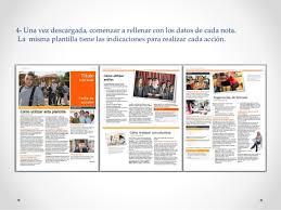 formatos de boletines informativos plantilla para boletines