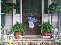front door decor summerImages About Front Door Decorating On Pinterest Summer Porches
