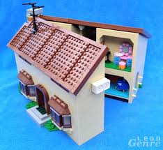 The Lego Simpsons House Review      Don    t Have a Cow  Man LegoGenre  The Simpsons House Opened