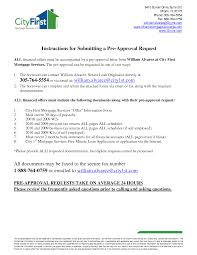 Mortgage Pre Approval Letter Best Business Template
