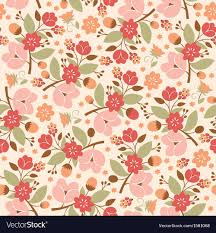Floral Pattern Enchanting Beauty Floral Pattern Royalty Free Vector Image