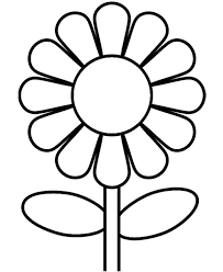 Small Picture Sunflower Coloring Page Kids Coloring Pages Pinterest