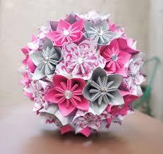 Paper Origami Flower Bouquet Paper Flower Bunch Under Fontanacountryinn Com