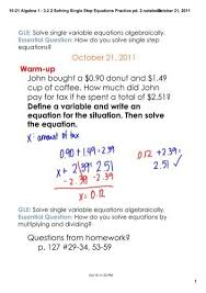 10 21 algebra 1 3 2 2 solving single