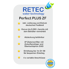 Betonzisterne Von Retec Perfect Plus Zf 8000 Liter