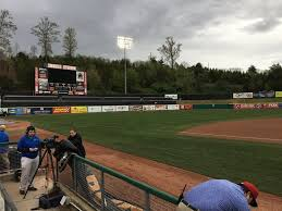 Press Box Picture Of Tennessee Smokies Minor League