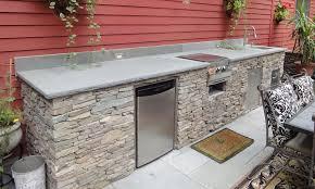modular outdoor kitchen islands frame within pre built architecture 1
