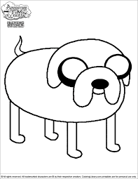Small Picture Adventure Time Coloring Pages Coloring Library