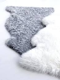 ikea faux fur rug layer these sheepskins over new area rugs create cozy husband will love