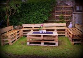 outdoor furniture made with pallets. Unique Furniture Pallet Garden Furniture In Outdoor Made With Pallets