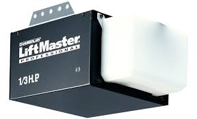 professional 1 3 hp garage door opener chain drive chamberlain manual and liftmaster professional 0