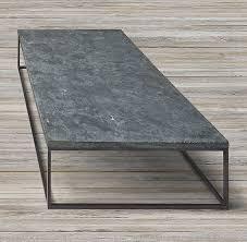 bluestone coffee table. RH\u0027s Delphine Bluestone \u0026 Metal Coffee Table:Our \u002760s-inspired French Table Features