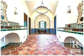 terracotta floor tile antique riviera flooring with painted tiles painting before and after