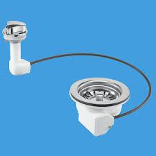 pop up kitchen sink basket strainer waste pus113 74000400 plumbers mate ltd