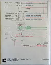 cummins laminated ism cm876 control module wiring diagram