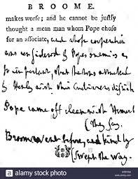 Corrected Letter Facsimile Of A Corrected Letter By Samuel Johnson Samuel Johnson