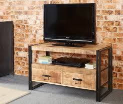 Small Tv Cabinets Manhattan Loft Tv Cabinet Oak Furniture Solutions