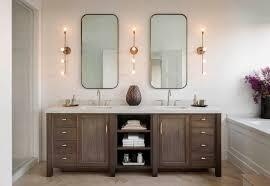 brass bathroom light. Attractive Bath Vanity Lights Industrial Bathroom When   Home Decoractive Bronze. At Menards. Lights. Brass Light