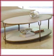 apartment size oval coffee table
