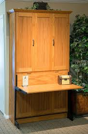 Twin murphy bed desk Double Twin Twin Size Newport Murphy Bed In Oak Wood With Aurora Splendor Finish Pinterest San Diego California Wall Beds And Murphy Beds Wilding Wallbeds