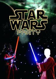 star wars birthday invite template ideas lego party invitation template free and star wars party