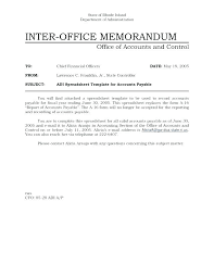 Inter Office Memo Office Memo Template Inter Interoffice Memorandum