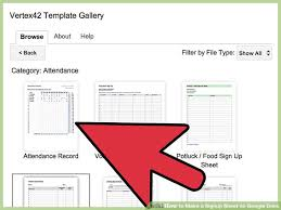 How To Make A Signup Sheet How To Make A Signup Sheet On Google Docs With Pictures