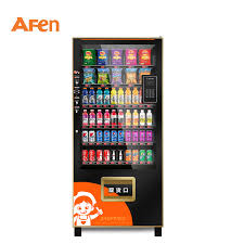 Buy Drink Vending Machine Beauteous China Afen Mobile Shop APP Payment Snack Drink Combo Vending Machine