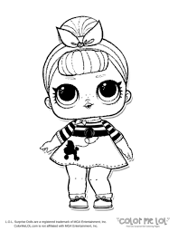 Coloring Pages Free Printable Lolrprise Dolls Coloring Pages