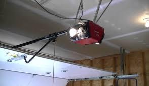 wall mounted garage door openerHow to Install an Automatic Garage Door  Rafael Home Biz