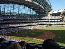 Milwaukee Brewers Seating Chart Miller Park Breakdown Of The Miller Park Seating Chart Milwaukee Brewers