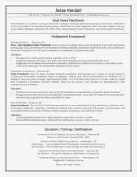 Nursing Resume Clinical Experience Unique Sample Rn Resume